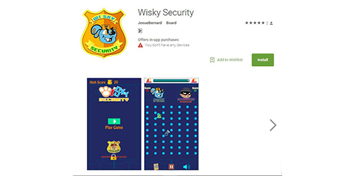 Whisky Security Mobile Game